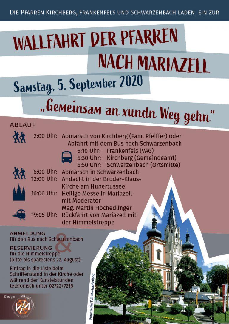 Plakat Wallfahrt Mariazell
