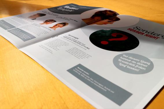 Broschüre Lehrlingswettbewerb, WKO Innung Friseure