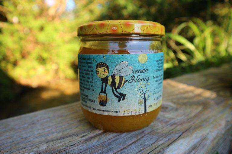 Etikett Bienenhonig
