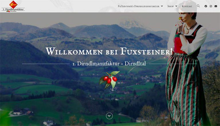 Homepage Fuxsteiner