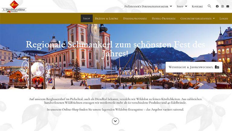 Webshop Fuxsteiner